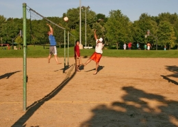 Double Sand Volleyball