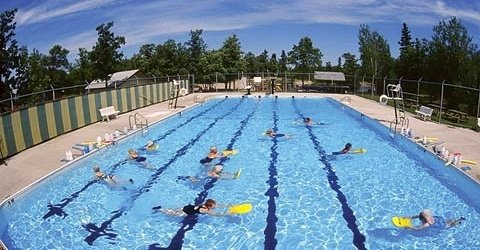 Pinawa public pool