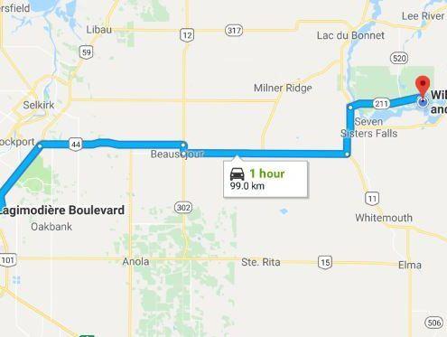 retreat location from Winnipeg to Wilderness Edge