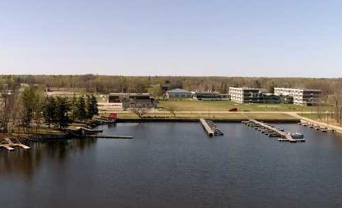 Retreats at Pinawa Manitoba waterfront view