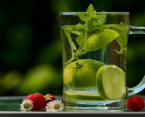 wellness retreat water drink detox